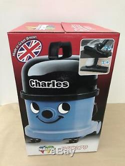 Numatic Charles Cvc-370 Aspirateur Sec Et Humide Bleu 240v