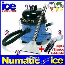 Numatic Ct370-2 Nettoyant Pour Extraction De Shampooing Sous Vide Pour Tapis Et Tissus D'ameublement