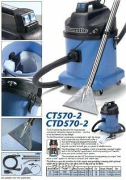Numatic Ctd570-2 Twin Motor Commercial Car Valeting Vacuum Machine 833059