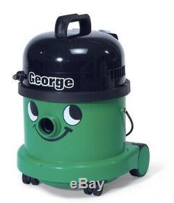 Numatic George Gve370-2 Vide Nettoyeur De Tapis Hoover Wet & Dry Vert A26a Kit Royaume-uni