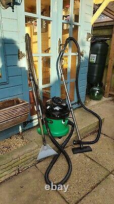 Numatic George Gve370-2 Wet & Dry Vacuum Cleaner Green En Parfait État