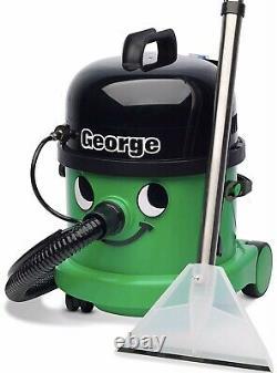 Numatic George Gve370-2 Wet & Dry Vacuum Cleaner Green Ouvert Jamais Utilisé