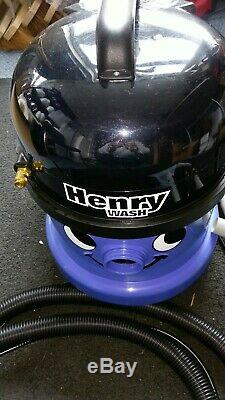 Numatic Henry Wash Hvw370 Cleaner Aspirateur Tapis Nearly New