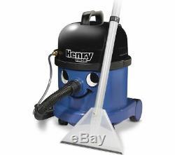 Numatic Henry Wash Hwv 370 Aspirateur Pour Déchets Secs Et Humides Avec Cylindre Bleu Currys