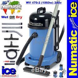 Numatic Professionnel Professionnel Charles Wet & Dry Hoover Aspirateur Wv470-2 230v