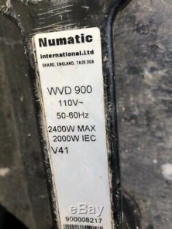 Numatic Wdv 900 Aspirateur Humide Ou Sec Twinflo Moteur 110v + Tuyaux