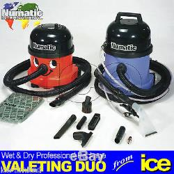 Numatic Wet Et Dry Car Valeting Aspirateur Machines Valeur Starter Package