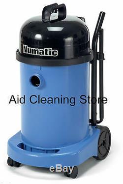 Numatic Wv470 -2 Aspirateur Commercial Humide Ou Sec Bleu 240v Avec Kit Aa12