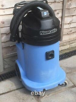 Numatic Wvd900-2 Wet/dry Twin Motor Aspirateur Hoover Valeting Machine 110v