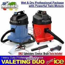 Outils Car Wash Valet Wet & Dry Vacuum Duo Équipement De Nettoyage Paquet Ameublement