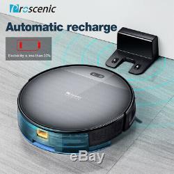 Proscenic 800t Alexa Aspirateur Robot Wet Dry 2000pa Pet Poil Vadrouille Navigation
