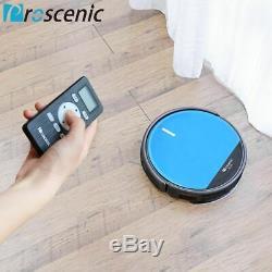 Proscenic Alexa Robot Aspirateur Vadrouille Sous Vide Robotisée À 360 ° Pour Animaux De Compagnie