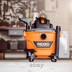 Rigid Shop Aspirateur Nettoyant Humide Vac Sec 9 Gal 4,25 Peak HP Filtre Accessoires De Tuyau