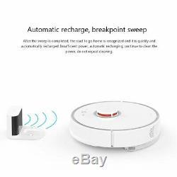 Roborock S50 Robot Intelligent Wifi Aspirateur 2ème Génération Wet & Dry-uk / Us Plug