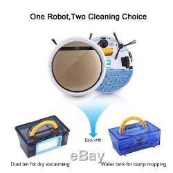 Robot De Nettoyage Intelligent Ilife V5s Pro Nettoyeur Pour Balayage À Sec Humide Sous Vide