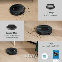 Robot Robot De Nettoyage À Vide Sec Proscenic Alexa 360° Pet Wet
