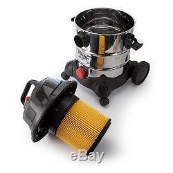 Sealey 20ltr 110v Humide + Aspirateur / Aspirateur Industriel Sec + Accessoires Pc200sd110v