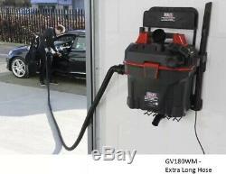 Sealey Gv180wm Garage Vide 1500w Avec Mur Télécommande De Montage Atelier