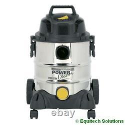 Sealey Pc200sd110v 20l 110v Aspirateur Industriel Humide Et Sec À Vide Nouveau