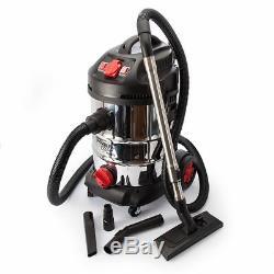Sealey Pc300sdauto Aspirateur 30ltr À Démarrage Automatique En Acier Inoxydable 1400w / 240v