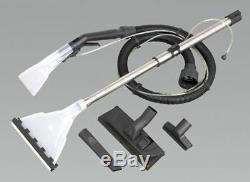Sealey Pc310 Machine De Nettoyage De Valet Pour Le Nettoyage De Tapis Secs Et Humides + Accessoires