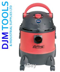 Sealey Pc310 Valeting Machine Wet & Dry Avec Accessoires 20ltr 1250with230v