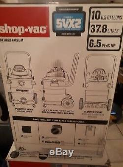 Shop-vac10 U. S. Gallon (37,8 L) 6.5 HP Ultra Pointe Humide / Sec À Vide Catalogue No59884