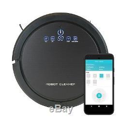 Smart Aspirateur Robot Pet Wifi Nettoyeur Multi-surface Automatique Mouillé Et Sec