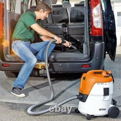 Stihl Se62 Wet & Dry Vacuum Cleaner Nouveau Puissant Hoover 1400w Heavy Duty Bagless