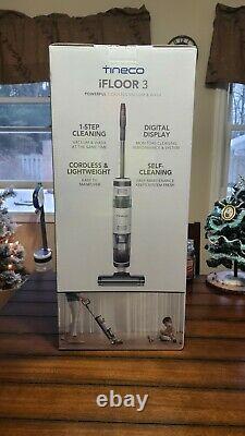 Tineco Ifloor3 Cordless Wet Dry Vacuum Cleaner Nouveau Modèle En Main 2 Jours Navire