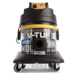 V-tuf MIDI Hydro Dépoussiérage Industriel Aspirateur (240v)