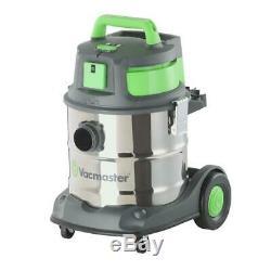 Vacmaster Industriel Vide Humide / Sec De 1500 Watts Sync Inoxydable Réservoir Func