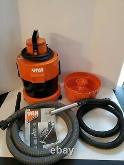 Vax 221 Canister Wet Dry Shop Vac Carpet Cleaner Vacuum Testé 1989 Vintage Rare