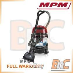 Wet / Dry Aspirateur Mpm Mod-22 Vira 2400w Garantie Complète Vac Hoover Clean Accueil